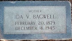 Ida Victoria <I>Hemphill</I> Bagwell