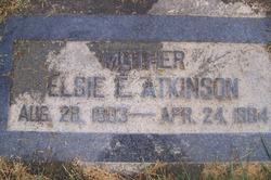 Elsie Naomi <I>Everett</I> Atkinson