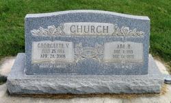 """Abraham H. """"Abe"""" Church"""