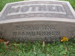 Catherine Magdalena <I>Appel</I> Kalbrunner