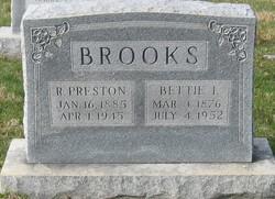 Richard Preston Brooks