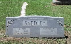 Marjorie <I>Milstead</I> Baddley