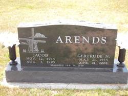 Gertrude N. <I>Jacobsma</I> Arends