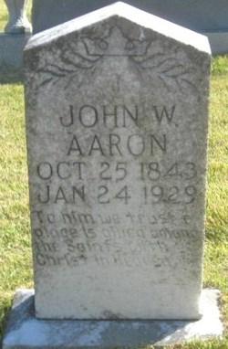 John W Aaron