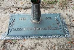 Alma Elizabeth <I>Taylor</I> Failes