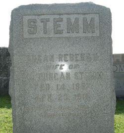 Susan Rebekah <I>Clark</I> Stemm