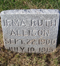 Irma Ruth Allison