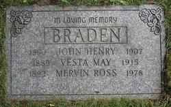 John Henry Braden
