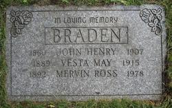 Mervin Ross Braden