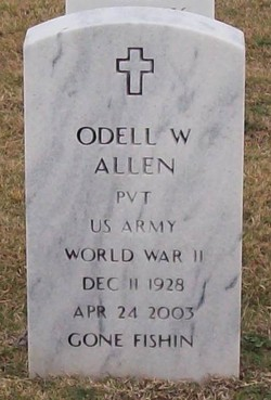 Pvt Odell Wilburn Allen