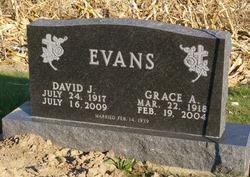 Grace A <I>Miller</I> Evans
