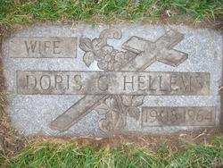 Doris Georgina <I>Herbert</I> Hellems