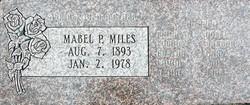 Mabel Avilda <I>Pulsipher</I> Miles
