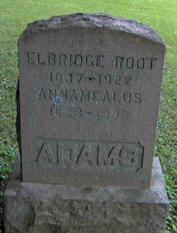 Elbridge <I>Root</I> Adams