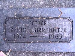"""Marinus Johannes """"Martin"""" Abrahamse"""