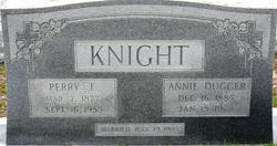 Annie <I>Dugger</I> Knight