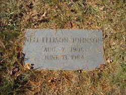 Nell <I>Ellison</I> Johnson