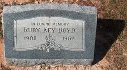 Ruby <I>Key</I> Boyd