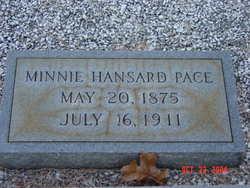 Minnie Bell <I>Hansard</I> Pace