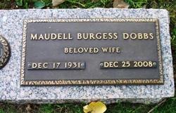 Maudell <I>Burgess</I> Dobbs