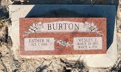 Wesley E Burton