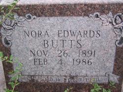 Nora <I>Edwards</I> Butts