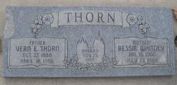 """Vernile Erastus """"Vern"""" Thorn"""