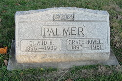 Grace Elizabeth <I>Howell</I> Palmer