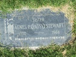 "Agnes Pearl ""Patsy"" Stewart"