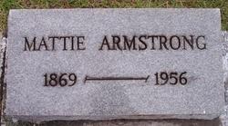 Mattie <I>Clark</I> Armstrong