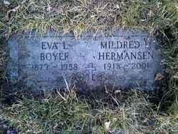 Mildred M <I>Boyer</I> Hermansen
