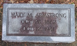 Mary M Armstrong