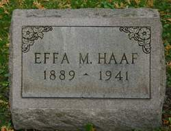 "Effa May ""Effie"" <I>Treat</I> Haaf"