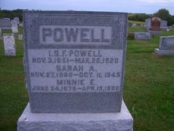 Sarah Alice <I>Whisler</I> Powell
