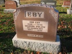 Martha <I>Polzin</I> Eby