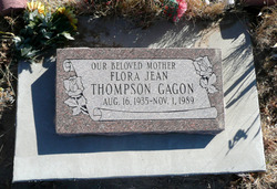 Flora Jean <I>Thompson</I> Gagon