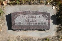 Prudence Adrianne <I>Porritt</I> Giles