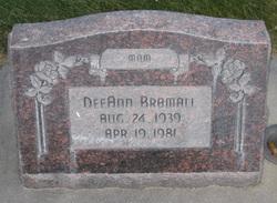 Dee Ann Bramall