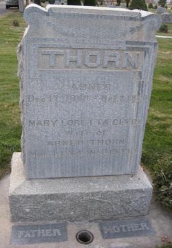 Mary Loretta <I>Clyde</I> Thorn