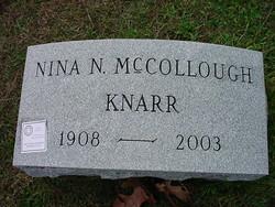 Nina Naomi <I>McCollough</I> Knarr