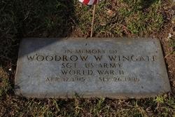 Woodrow Wilson Wingate