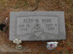 Ruth Marie <I>Hunt</I> Webb