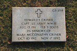 Edward E. Criner