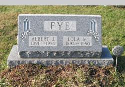 "Albert Jesse ""Bob"" Fye"