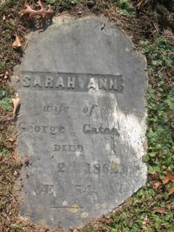 Sarah Ann <I>Swan</I> Gates
