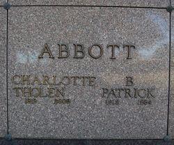 Charlotte Lucille <I>Tholen</I> Abbott