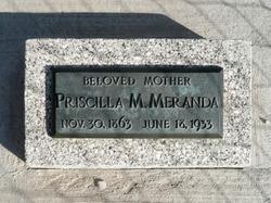 Priscilla <I>Morris</I> Meranda