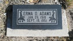 Erma D. <I>Nielson</I> Adams