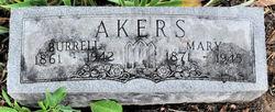 Mary <I>Asbury</I> Akers