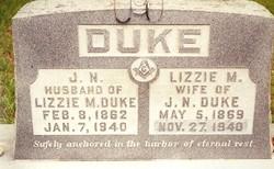 Lizzie M. <I>Altom</I> Duke